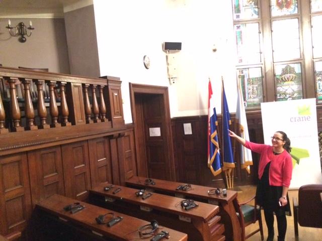 Hrvatska gospodarska komora (Croatian Chamber of Economy) - interior – 02